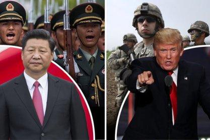 china-us confrontation
