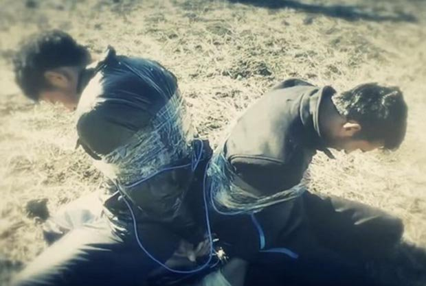 ISIS explosives prisoners