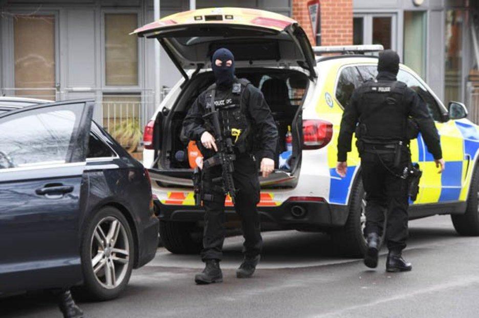 Birmingham Police Shooting Cops Shoot Dead Man In His 50s