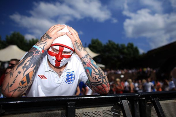 England fans on the 3 Lions board were worried about air safety in Russia