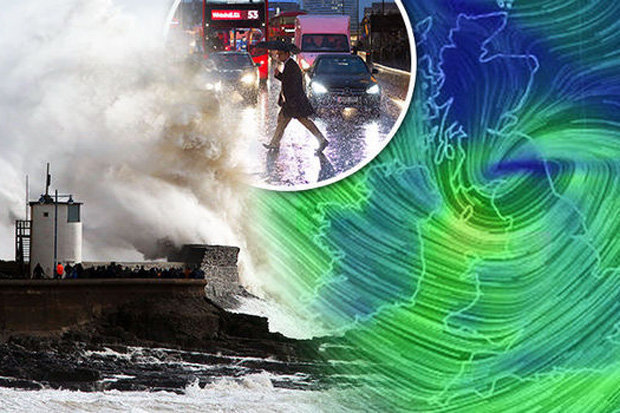 The Met Office is forecasting gale-force winds