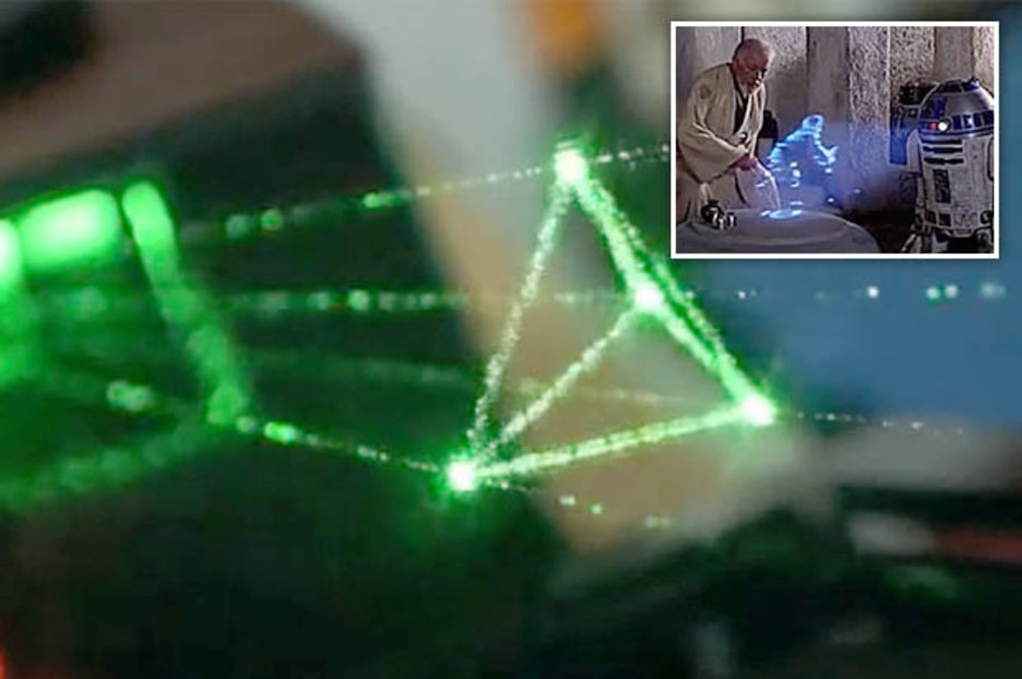 Star Wars Hologram Technology To Life Holovect Jaime Ruiz