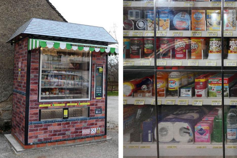 It S The Future Vending Machine Replaces Village Shop