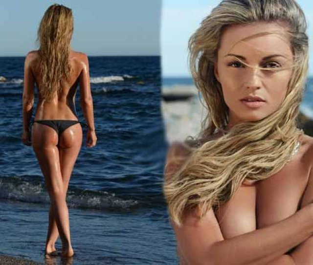 Strictly Sizzling Sexy Ola Jordan Strips Naked In New Beach Shots