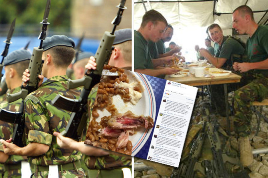 Cost of grim army dinners soar as our boys threaten