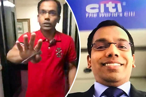 Balachandran Kavungalparambath caught on Facebook live