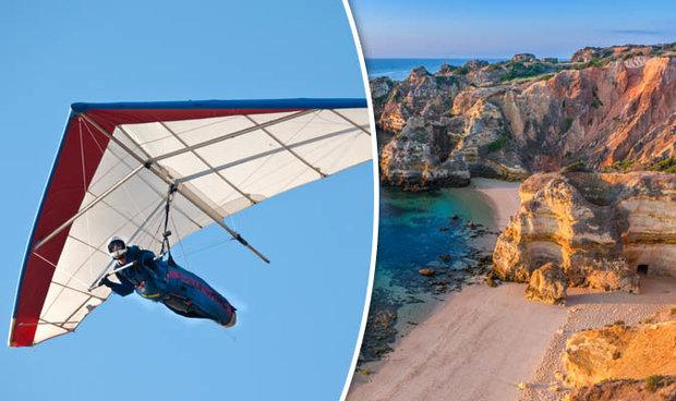 Algarve hang-glider death