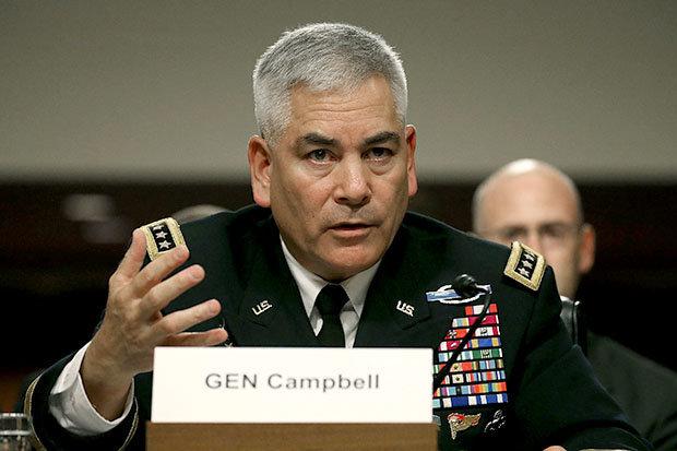 US General John Campbell