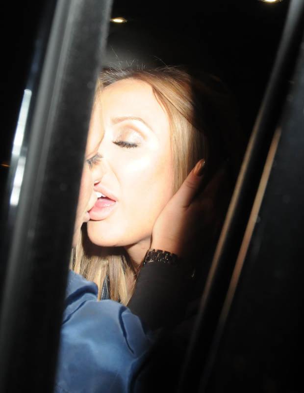 Charlotte And Steph Kiss Again