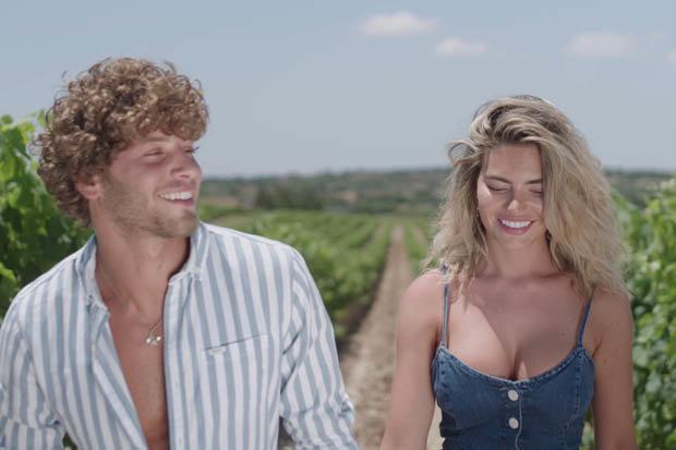 Megan und Eyal Love Island