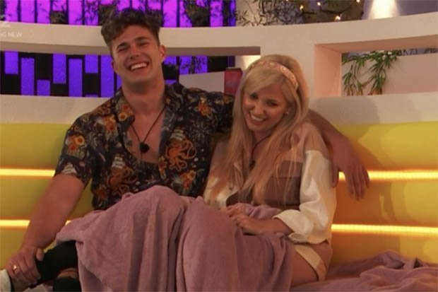 Love Island Curtis Pritchard And Amy Hart Romance Branded