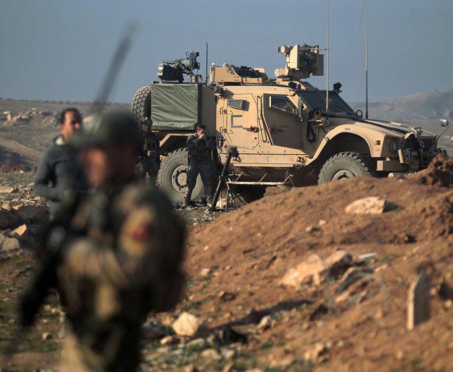 Fuerzas Especiales de Estados Unidos monitorean La Situacion