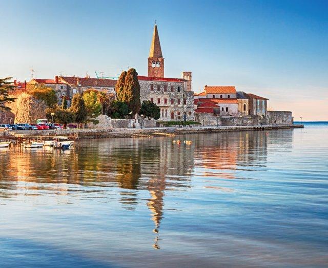 Port town Porec, Croatia