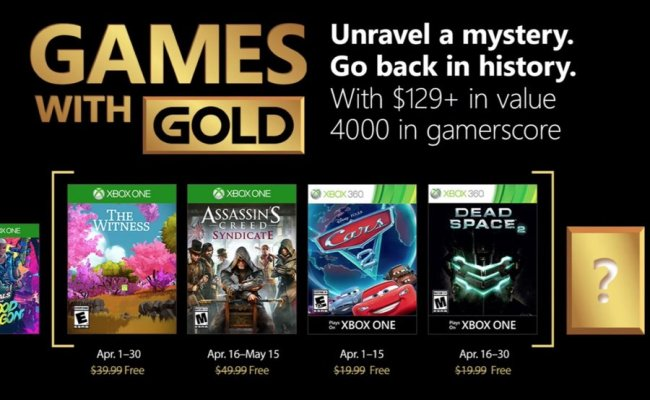 Xbox Live Gold Free When You Buy Xbox Games Pass New Deal