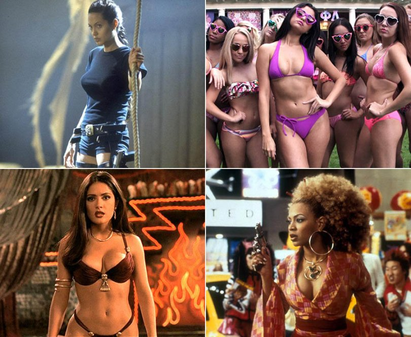 The hottest women in films
