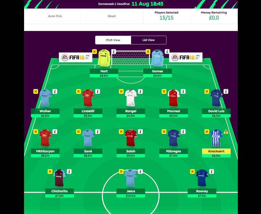 Fantasy Football Tips: Eight Premier League squad ...