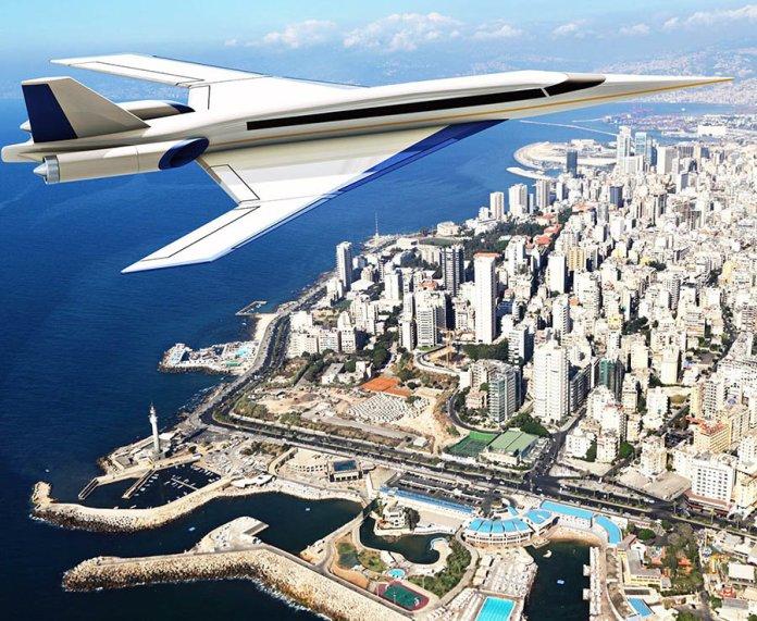 Aviões comerciais supersônicos S-512