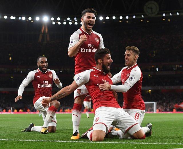 1. Arsenal - 4,302