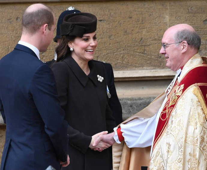 Kate Middleton joins the royal family for Easter Sunday church service for Easter Sunday church service