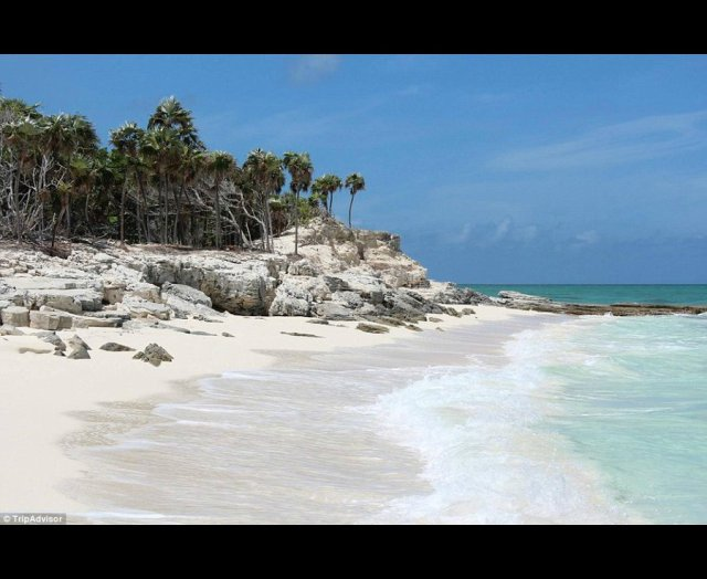 Grace Bay, Providenciales, Turks and Caicos in the Caribbean