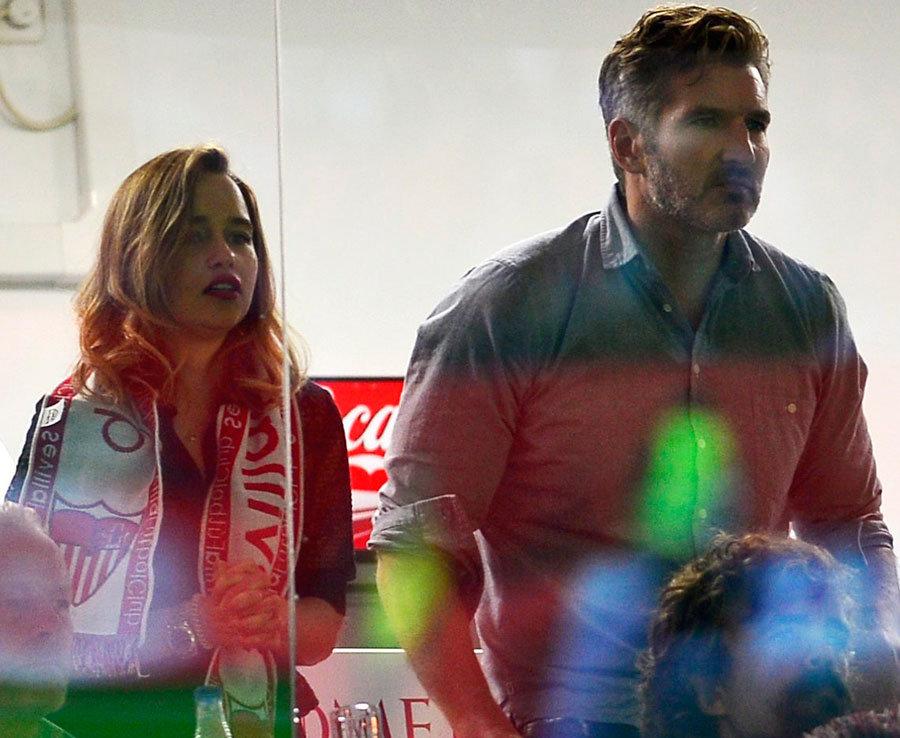 Game of Thrones Stars watch Barcelona take on Sevilla in La Liga  Daily Star