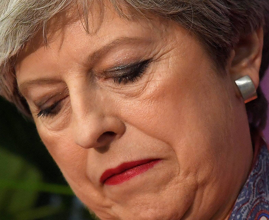 Slippery: May gained a reputation for never answering a direct question