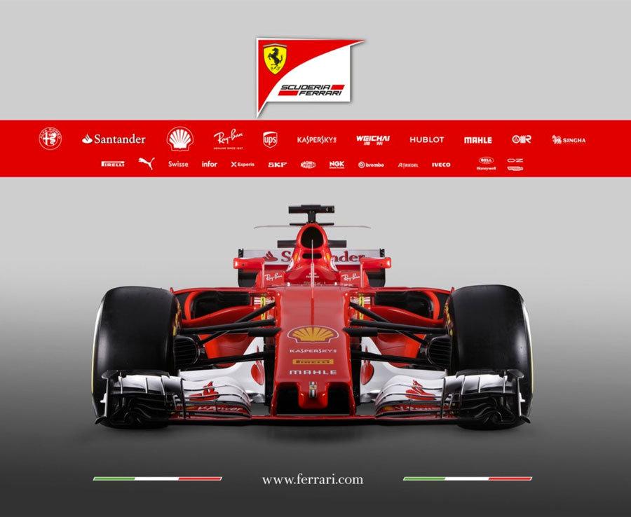Lewis Hamilton F1 Car Wallpaper Ferrari New Formula One Car Photos Of Sf 70h Ahead Of