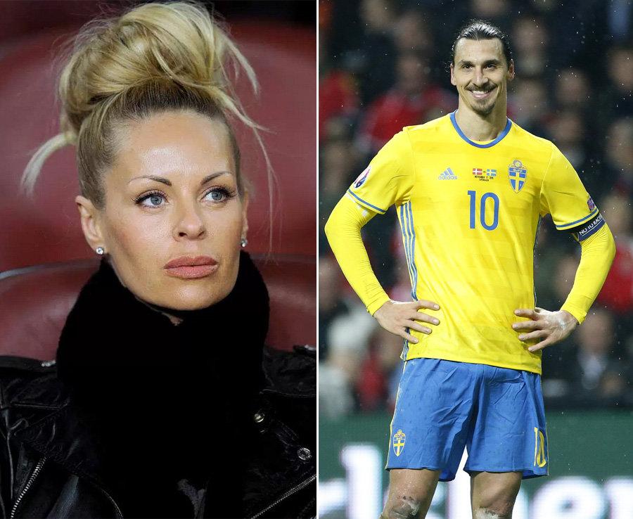 Euro 2016 Zlatan Ibrahimovics WAG Helena Seger Evil