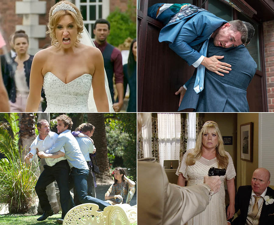 Soap wedding disasters