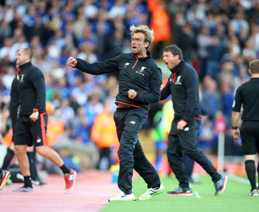 Jurgen Klopp Liverpool boss drops glasses again during celebration  Daily Star