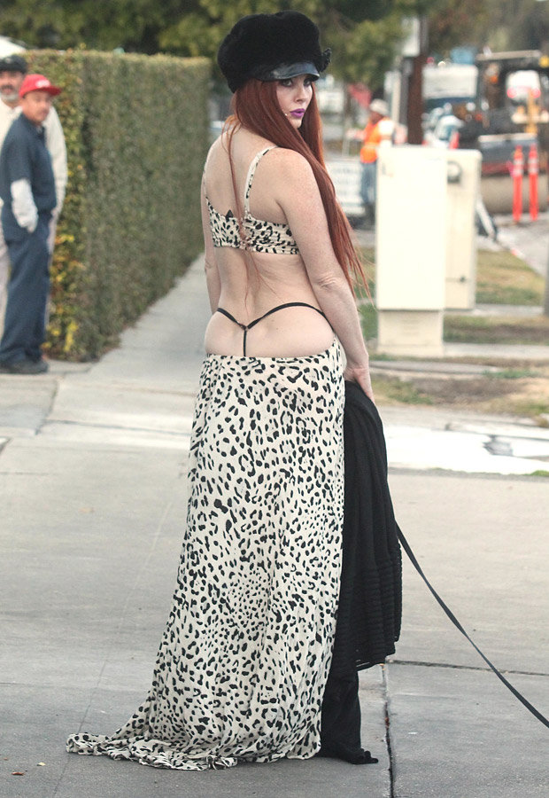 Phoebe Price leaves little to the imagination as she