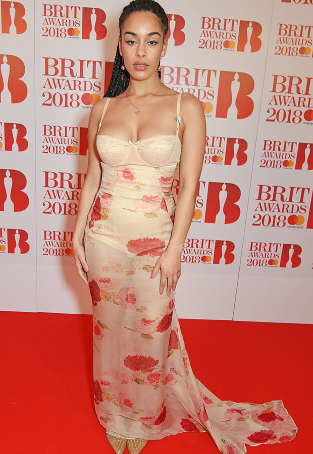 BRITs Jorja Smith Shocks Fans In Completely See Through