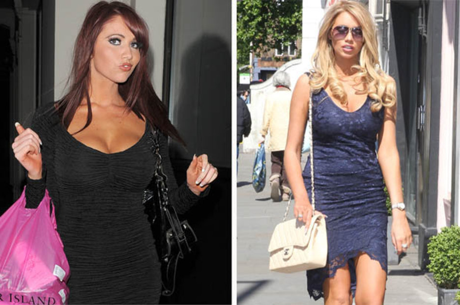 Amy Childs Is Unrecognisable As She Shows Off Newly Blonde