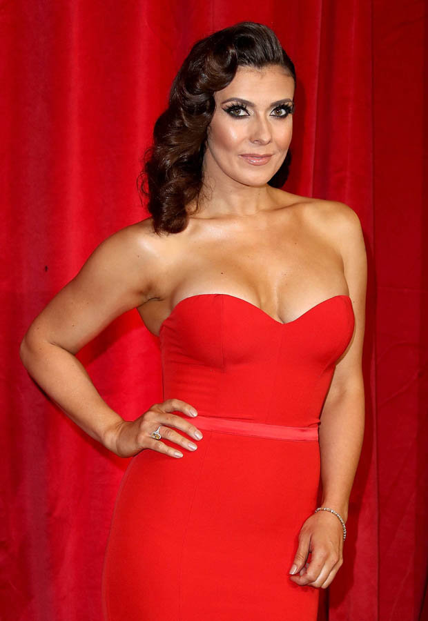 Kym Marsh pops out of her dress at Soap Awards  Daily Star
