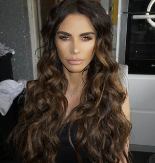 Katie Price marathon news eclipsed by her 'new face' in ...