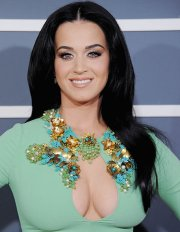 katy perry hair singer shocks