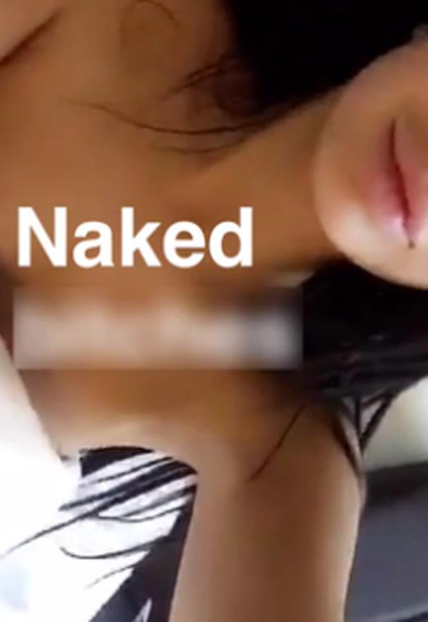 Chloe Ferry films Snapchat striptease Next stop glamour