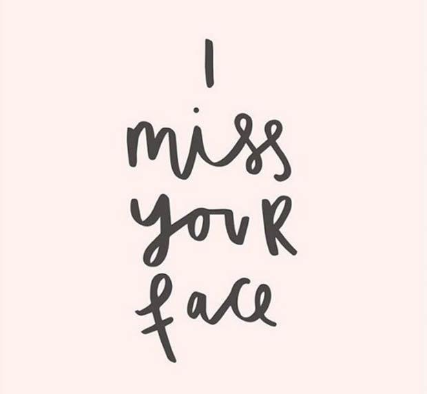 Meme I miss your face