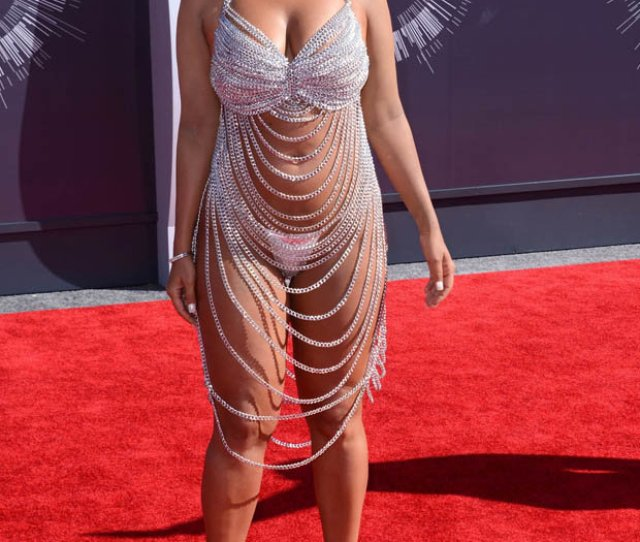 Amber Rose Naked Dress