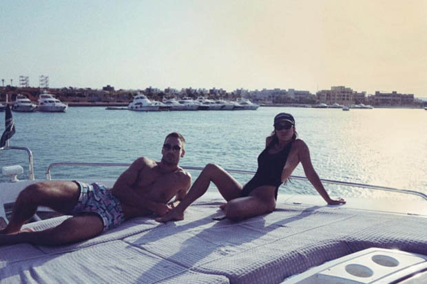 Kourtney Kardashian Instagram Younes Bendjimas Girl