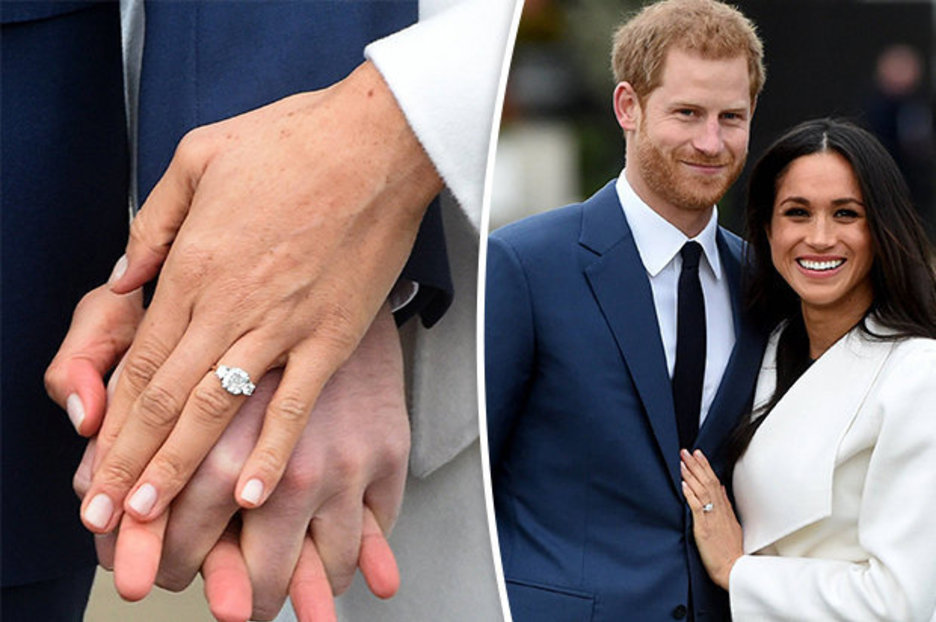 Meghan Markle Engagement Ring Copy On Sale For 2250