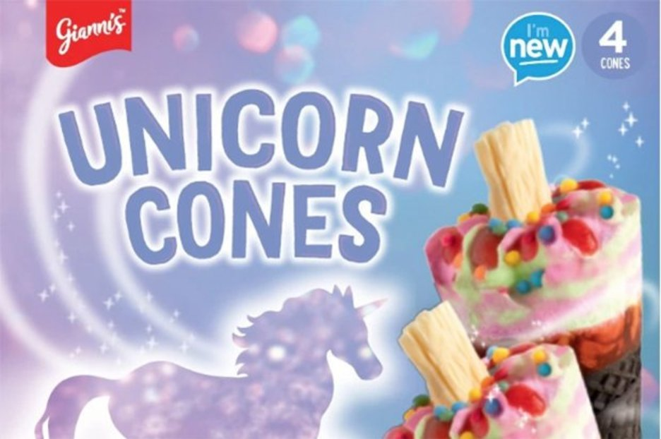 Unicorn Cream Ice Treats