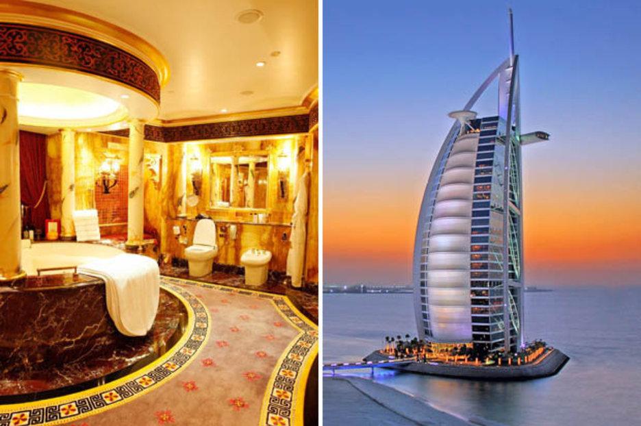 high back beach chair blue bay coconut rum dubai's luxury burj al arab hotel has had a number of high-profile guests | daily star