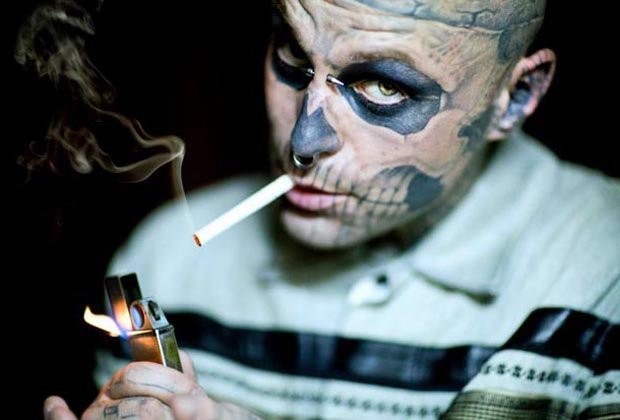 Zombie Boy shot to fame in Lady Gaga's music video