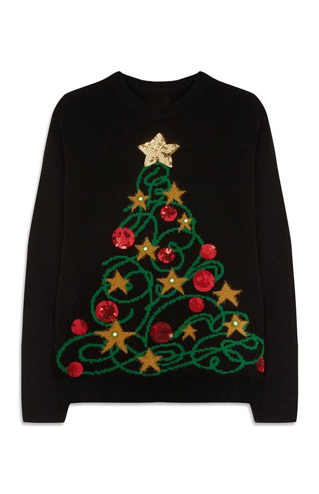 Christmas Lights Sweater