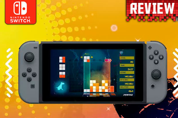 Lumines Remastered Nintendo Switch Review An Essential