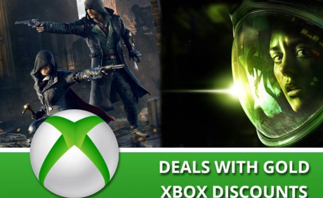 Xbox One And Xbox 360 Deals With Gold Game And Dlc
