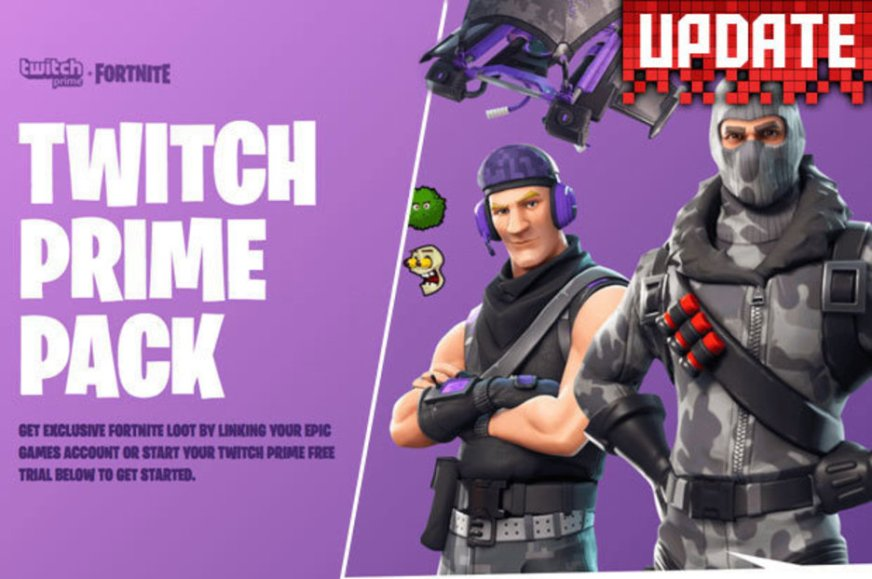 Fortnite Twitch Prime Skins and loot UPDATE: How to get ...