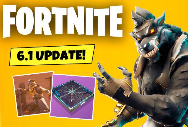 Fortnite 6 1 Patch Notes Reveal Leaked Skins Update