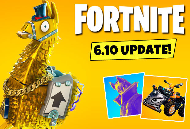 Fortnite Update 6 10 Time Revealed Patch Notes And